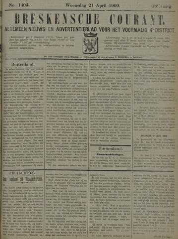 Breskensche Courant 1909-04-21