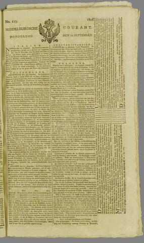 Middelburgsche Courant 1806-09-11