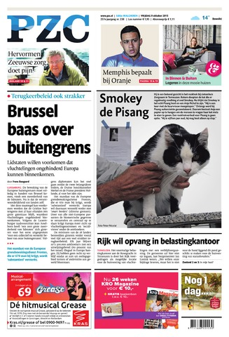 Provinciale Zeeuwse Courant 2015-10-09