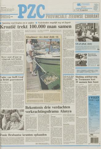 Provinciale Zeeuwse Courant 1995-08-03