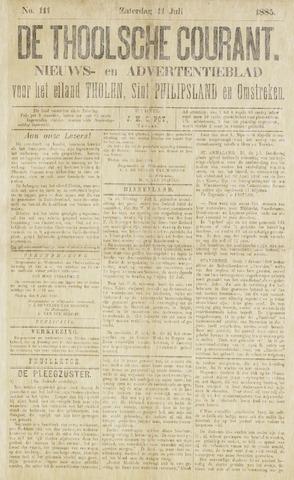 Ierseksche en Thoolsche Courant 1885-07-11