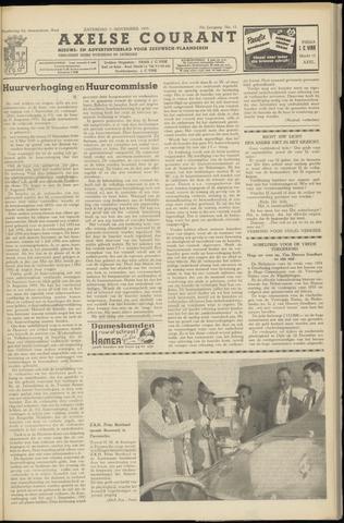 Axelsche Courant 1955-11-05