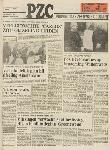 Provinciale Zeeuwse Courant 1975-12-22
