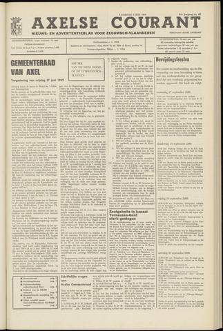 Axelsche Courant 1969-07-05