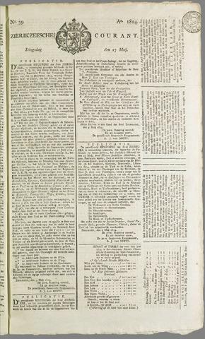 Zierikzeesche Courant 1814-05-17