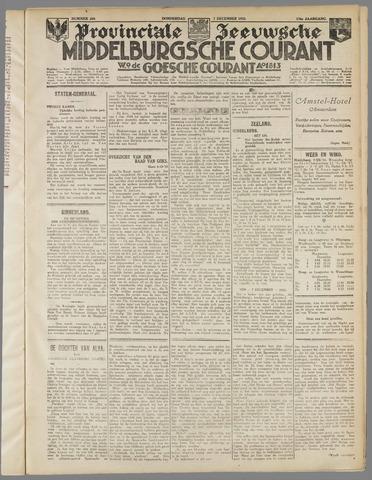 Middelburgsche Courant 1933-12-07
