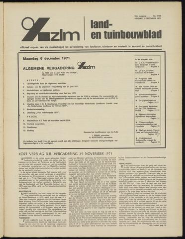 Zeeuwsch landbouwblad ... ZLM land- en tuinbouwblad 1971-12-03