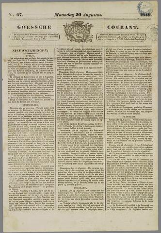 Goessche Courant 1849-08-20