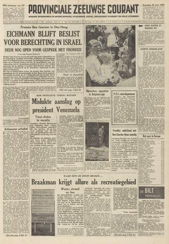 Provinciale Zeeuwse Courant 1960-06-25