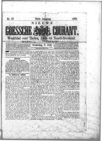 Nieuwe Goessche Courant 1868-07-02