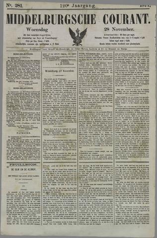 Middelburgsche Courant 1877-11-28