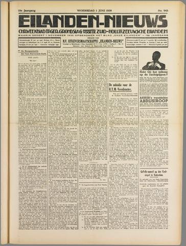 Eilanden-nieuws. Christelijk streekblad op gereformeerde grondslag 1938-06-01