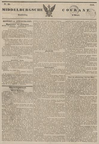 Middelburgsche Courant 1843-03-09