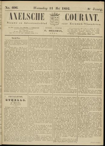 Axelsche Courant 1892-05-11