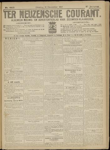 Ter Neuzensche Courant. Algemeen Nieuws- en Advertentieblad voor Zeeuwsch-Vlaanderen / Neuzensche Courant ... (idem) / (Algemeen) nieuws en advertentieblad voor Zeeuwsch-Vlaanderen 1917-12-18