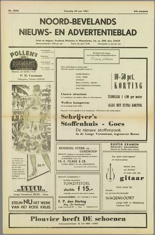 Noord-Bevelands Nieuws- en advertentieblad 1961-05-20
