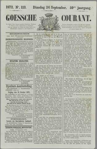 Goessche Courant 1872-09-24