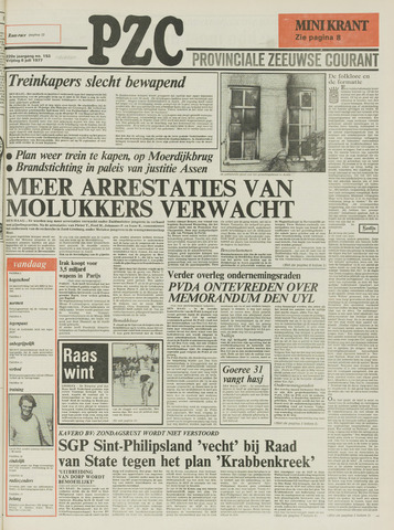 Provinciale Zeeuwse Courant 1977-07-08