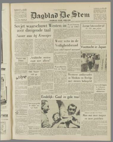 de Stem 1958-07-19