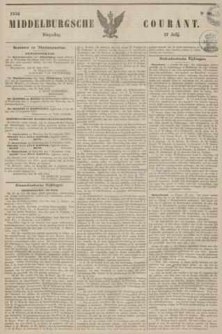 Middelburgsche Courant 1852-07-27