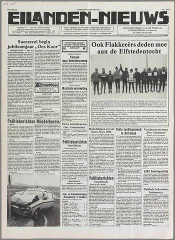 Eilanden-nieuws. Christelijk streekblad op gereformeerde grondslag 1985-02-26
