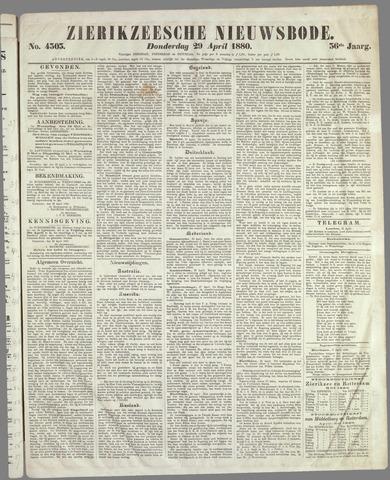 Zierikzeesche Nieuwsbode 1880-04-29