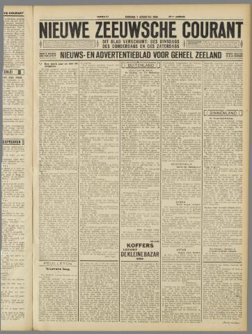 Nieuwe Zeeuwsche Courant 1934-08-07