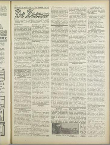 De Zeeuw. Christelijk-historisch nieuwsblad voor Zeeland 1944-04-18