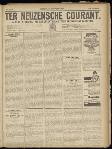 Ter Neuzensche Courant. Algemeen Nieuws- en Advertentieblad voor Zeeuwsch-Vlaanderen / Neuzensche Courant ... (idem) / (Algemeen) nieuws en advertentieblad voor Zeeuwsch-Vlaanderen 1929-10-11