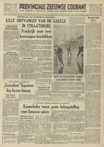 Provinciale Zeeuwse Courant 1961-11-24