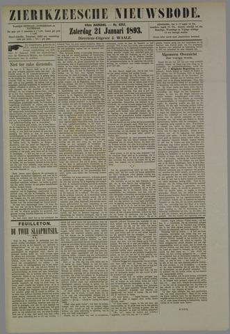 Zierikzeesche Nieuwsbode 1893-01-21
