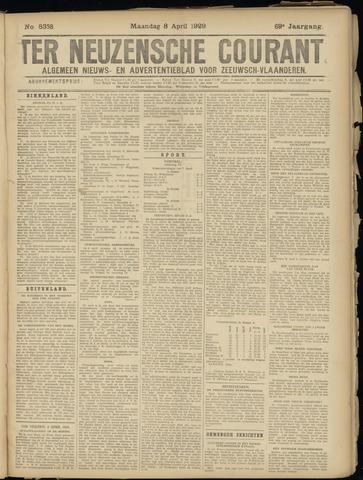Ter Neuzensche Courant. Algemeen Nieuws- en Advertentieblad voor Zeeuwsch-Vlaanderen / Neuzensche Courant ... (idem) / (Algemeen) nieuws en advertentieblad voor Zeeuwsch-Vlaanderen 1929-04-08