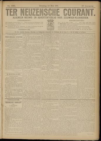 Ter Neuzensche Courant. Algemeen Nieuws- en Advertentieblad voor Zeeuwsch-Vlaanderen / Neuzensche Courant ... (idem) / (Algemeen) nieuws en advertentieblad voor Zeeuwsch-Vlaanderen 1916-05-23