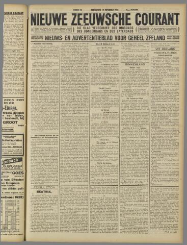 Nieuwe Zeeuwsche Courant 1925-11-19