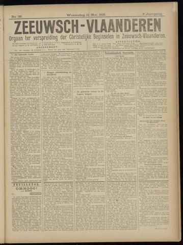 Luctor et Emergo. Antirevolutionair nieuws- en advertentieblad voor Zeeland / Zeeuwsch-Vlaanderen. Orgaan ter verspreiding van de christelijke beginselen in Zeeuwsch-Vlaanderen 1918-05-15
