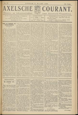 Axelsche Courant 1930-03-11