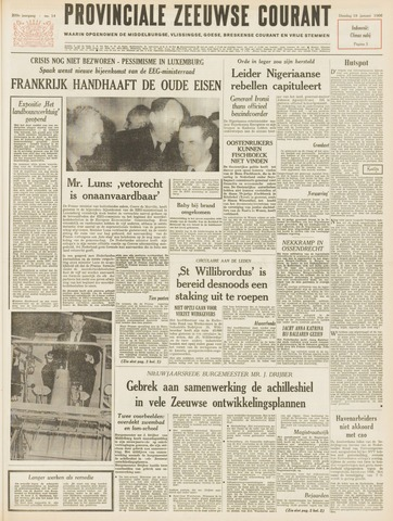 Provinciale Zeeuwse Courant 1966-01-18