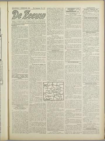De Zeeuw. Christelijk-historisch nieuwsblad voor Zeeland 1944-02-07