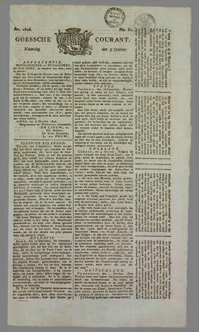 Goessche Courant 1826-10-09