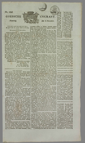 Goessche Courant 1826-11-06