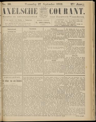 Axelsche Courant 1911-09-27