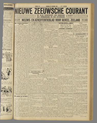 Nieuwe Zeeuwsche Courant 1931-10-27
