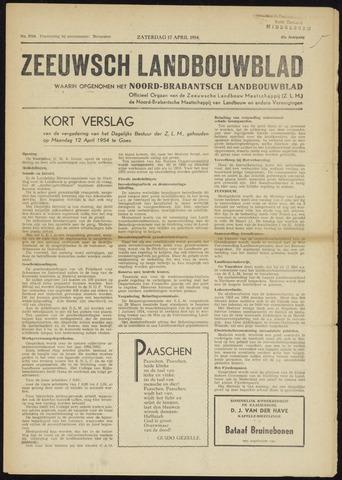 Zeeuwsch landbouwblad ... ZLM land- en tuinbouwblad 1954-04-17
