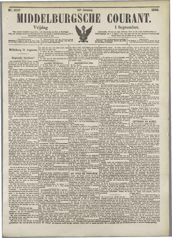 Middelburgsche Courant 1899-09-01