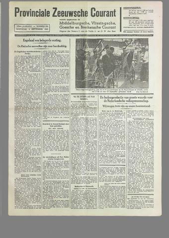 Provinciale Zeeuwse Courant 1940-09-04