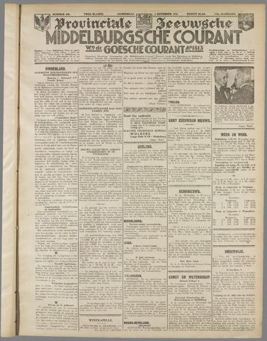Middelburgsche Courant 1933-11-02