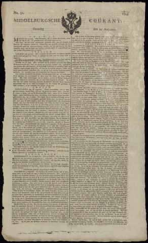 Middelburgsche Courant 1814-08-20