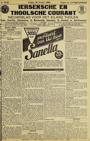 Ierseksche en Thoolsche Courant 1931-10-16