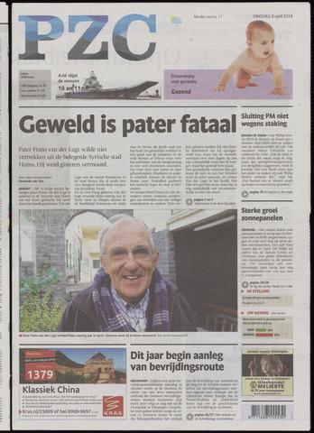 Provinciale Zeeuwse Courant 2014-04-08
