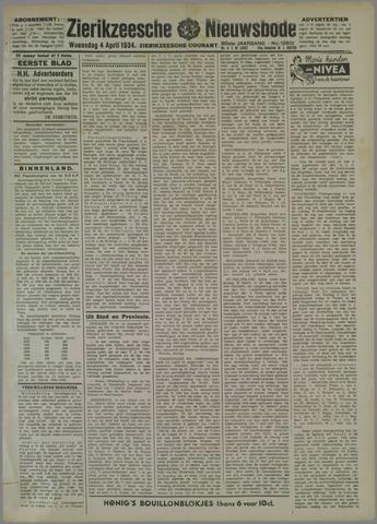 Zierikzeesche Nieuwsbode 1934-04-04